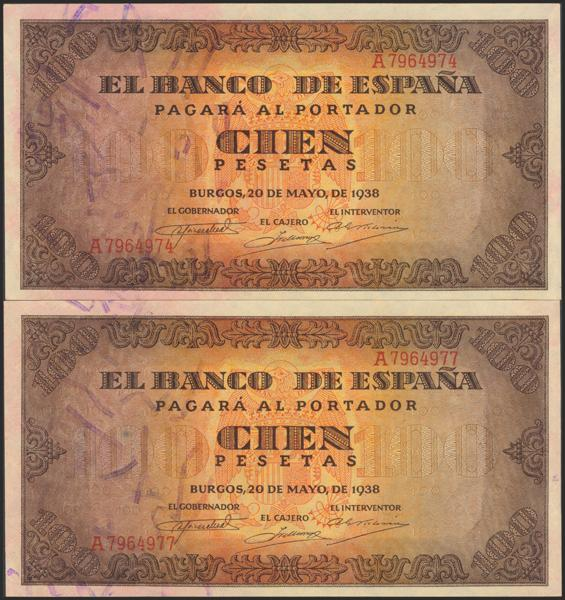 M0000005698 - Billetes Españoles