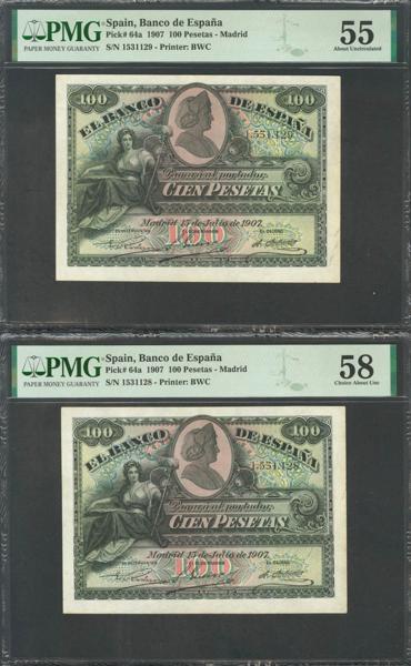M0000005901 - Billetes Españoles