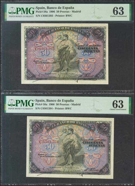 M0000005902 - Billetes Españoles