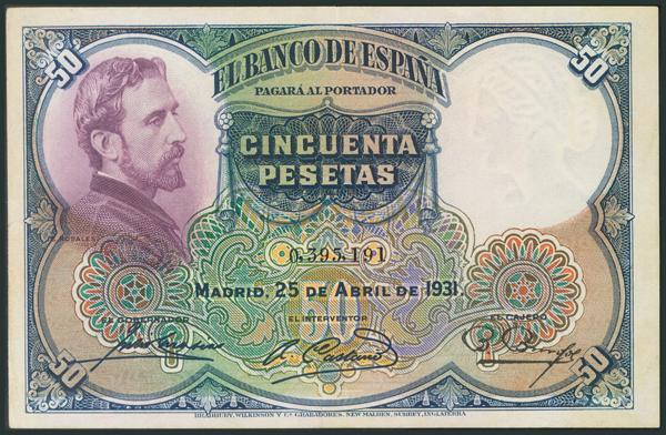 M0000005908 - Billetes Españoles