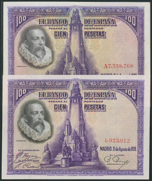 M0000005909 - Spanish Bank Notes