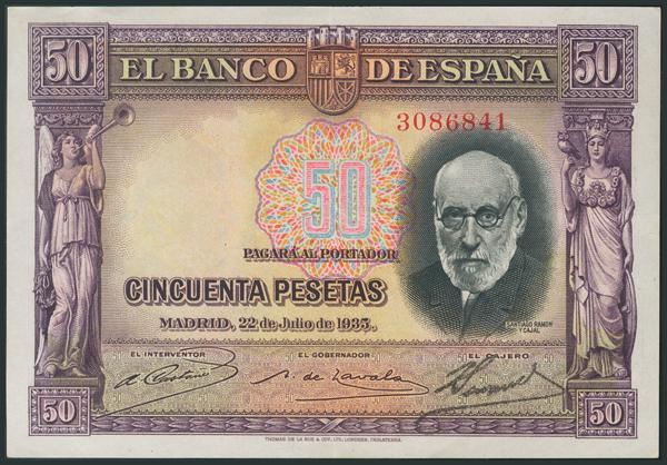 M0000005911 - Billetes Españoles