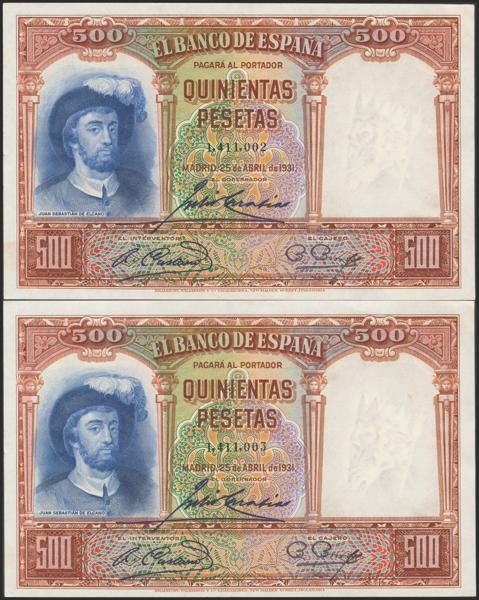 M0000005913 - Billetes Españoles