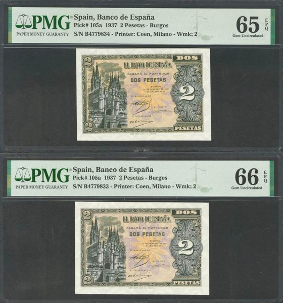 M0000005927 - Billetes Españoles