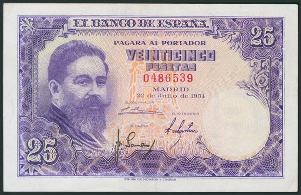M0000005934 - Billetes Españoles