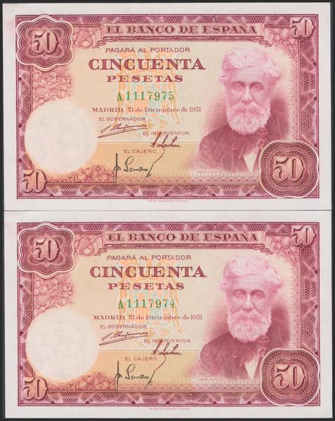 M0000005939 - Spanish Bank Notes