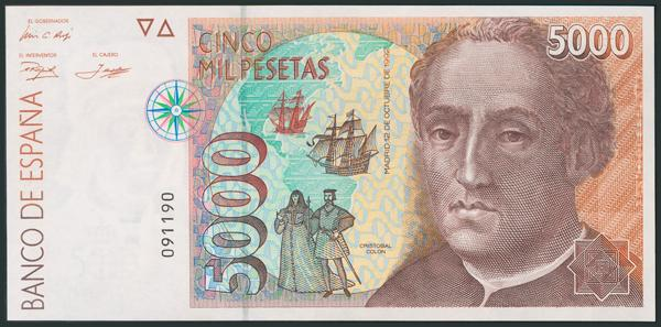 M0000005944 - Spanish Bank Notes