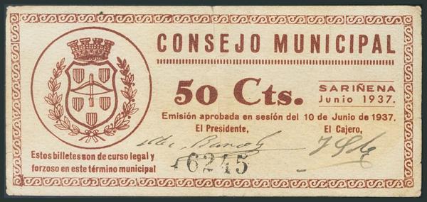 M0000005968 - Billetes Guerra Civil