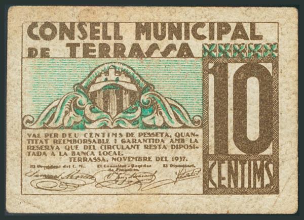 M0000005970 - Billetes Guerra Civil