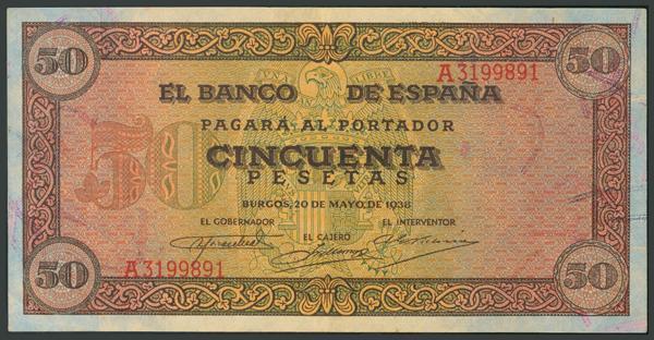 M0000006123 - Billetes Españoles