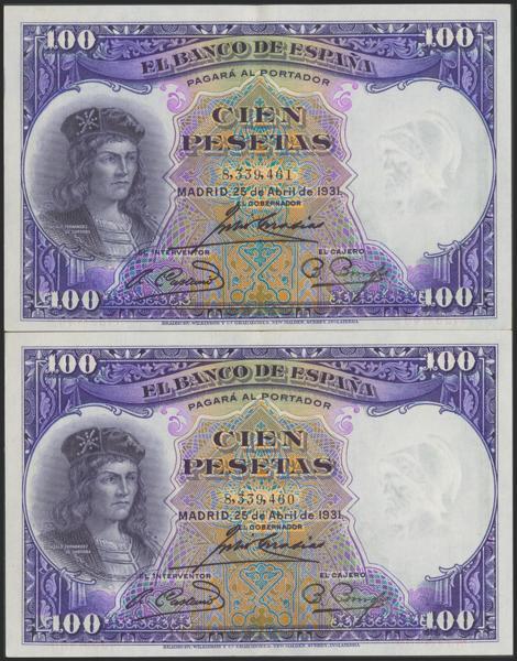 M0000006234 - Billetes Españoles