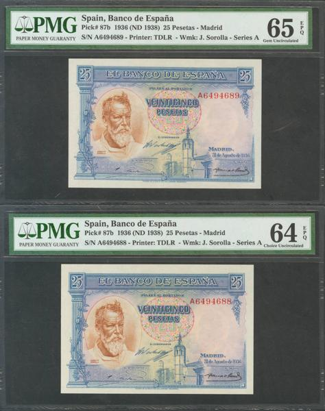M0000006346 - Billetes Españoles