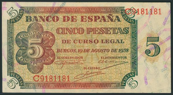 M0000006364 - Billetes Españoles