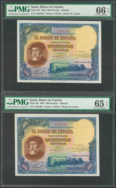 M0000006633 - Billetes Españoles