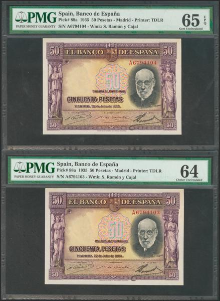 M0000006683 - Billetes Españoles