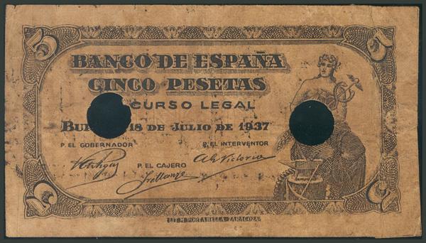 M0000007691 - Spanish Bank Notes
