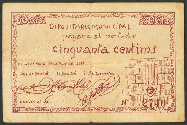 M0000007783 - Billetes Guerra Civil