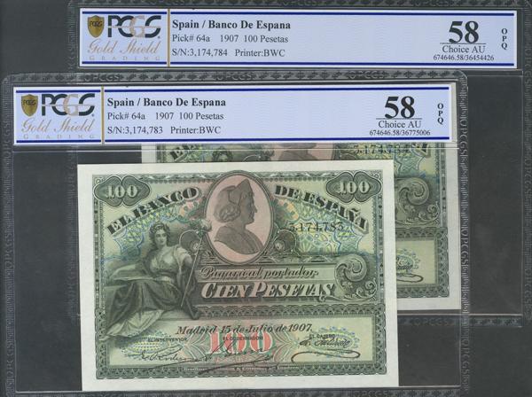 M0000008477 - Billetes Españoles