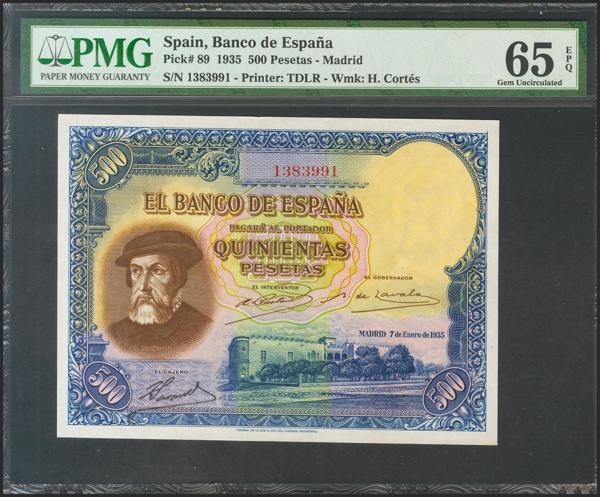 M0000008537 - Billetes Españoles