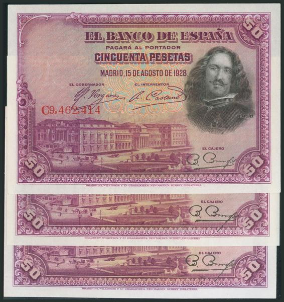 M0000008810 - Spanish Bank Notes