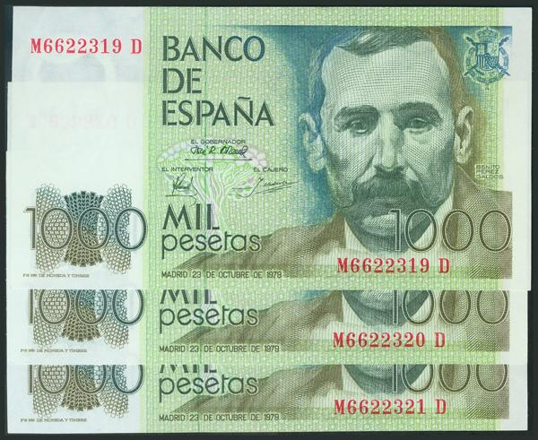 M0000009212 - Spanish Bank Notes