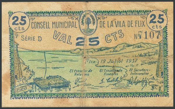 M0000010086 - Billetes Guerra Civil